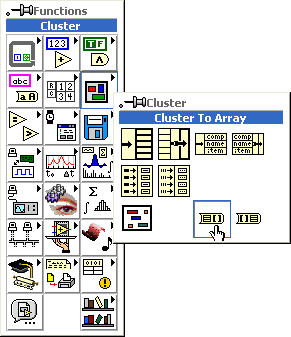 me 295 mod 1 10 labview clusters connect rh physics oregonstate edu Functional Block Diagram Example Block Diagram of EEG