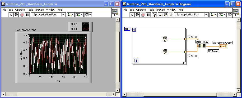 ME 295 - Mod 1 6 - LabView Graph Indicators - Connect